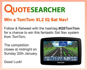 Quotesearcher TomTom Twitter Competition