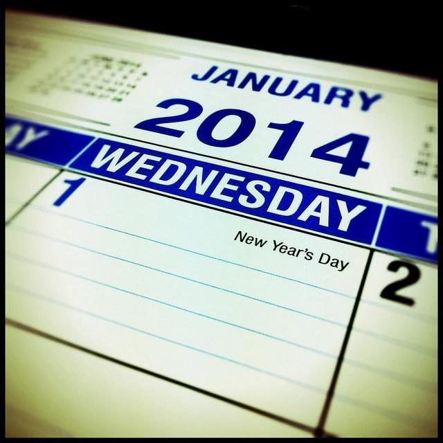 Image of 2014 Calendar