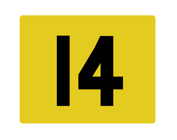14 plate