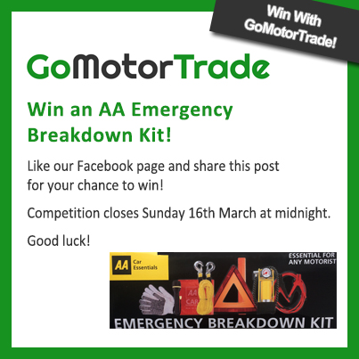 GoMotorTrade March Competition