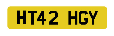 Image of Number Plate
