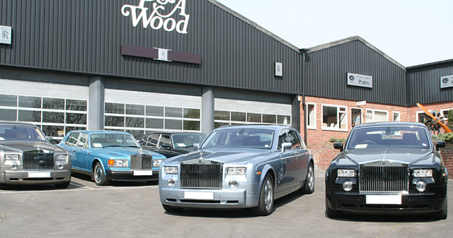 Image of Rolls Royce Dealership