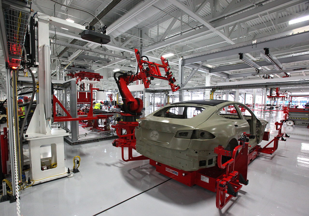 Image of Car Production Line