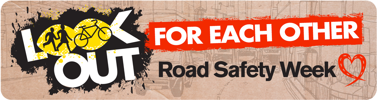 Road Safety week banner