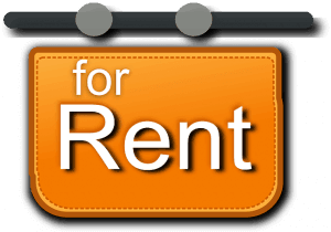 Image of rent sign