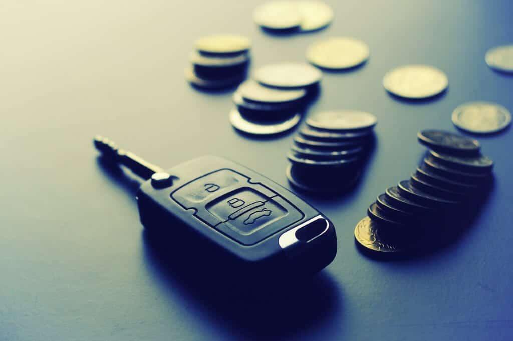 car key saving money