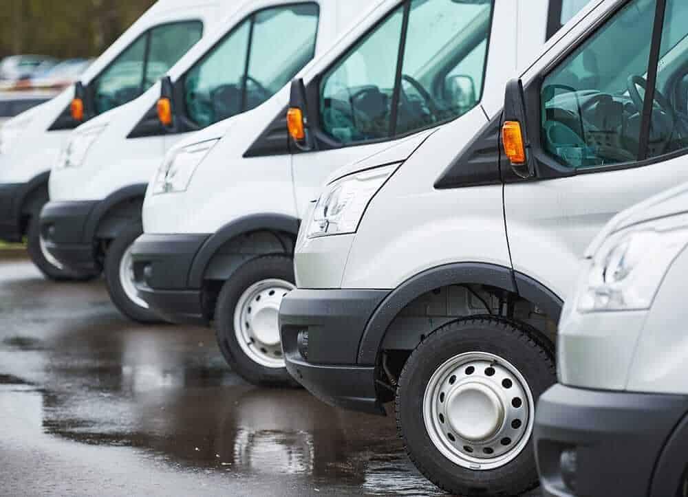 white van fleet
