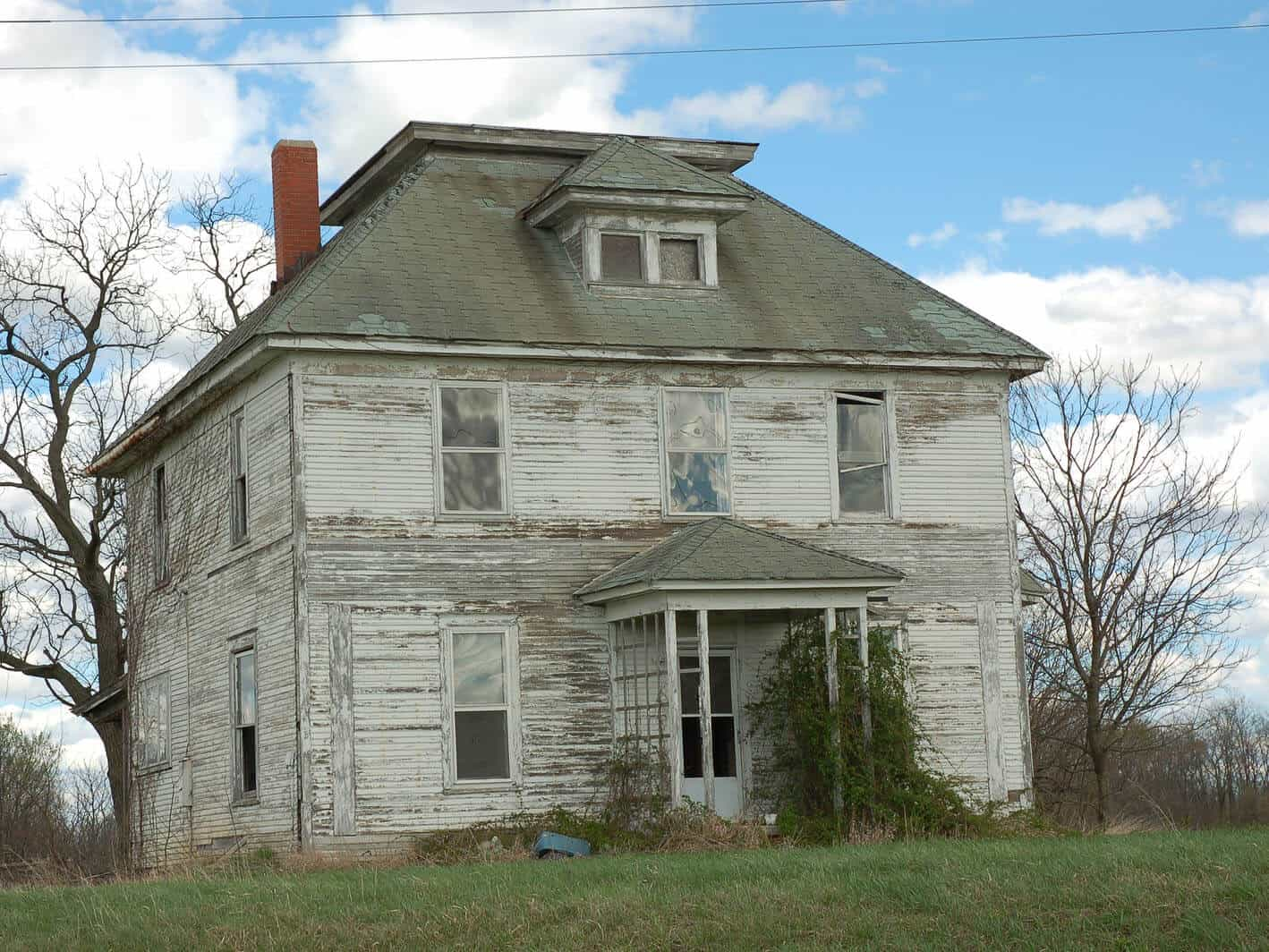 unoccupied house