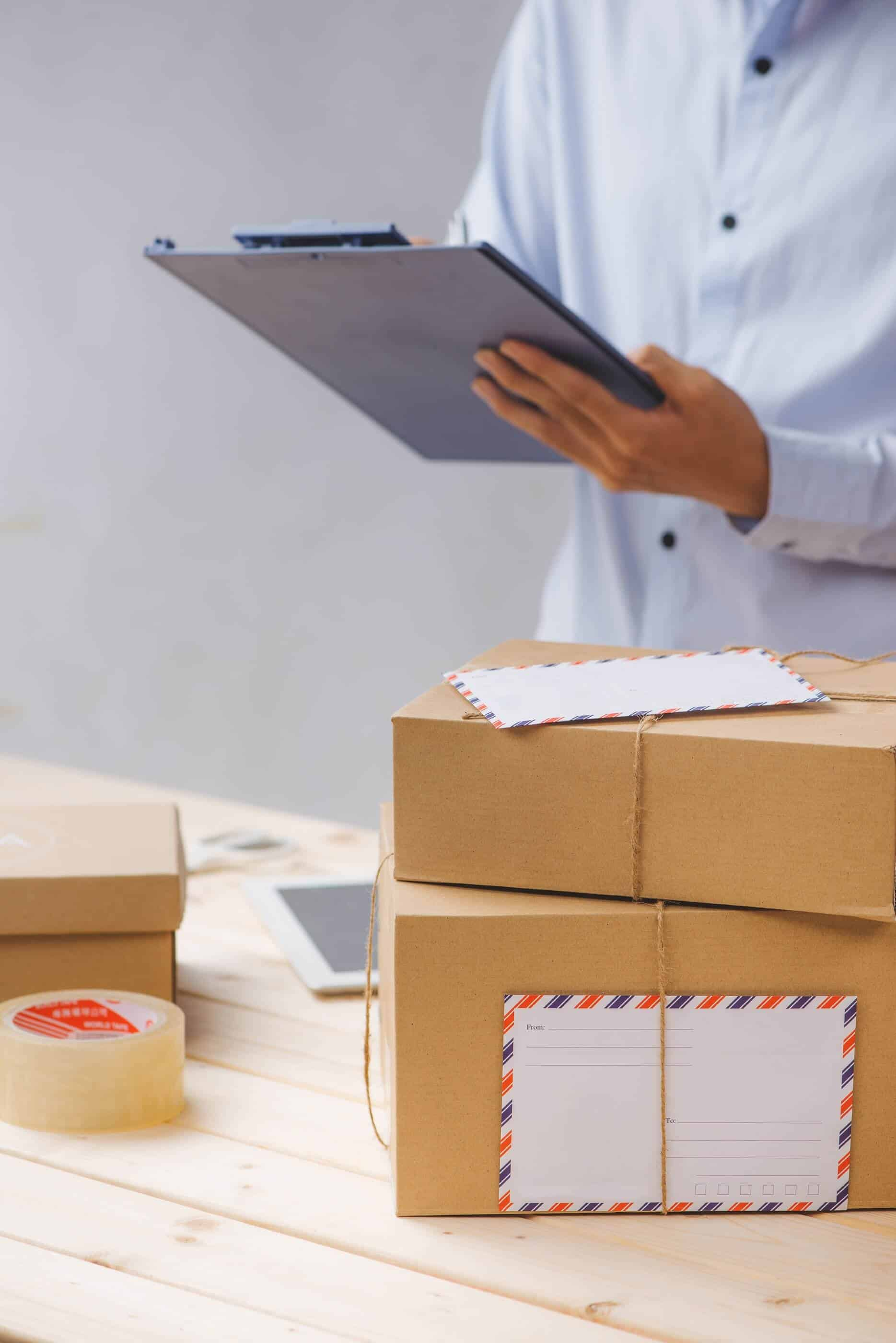 Courier logging packages