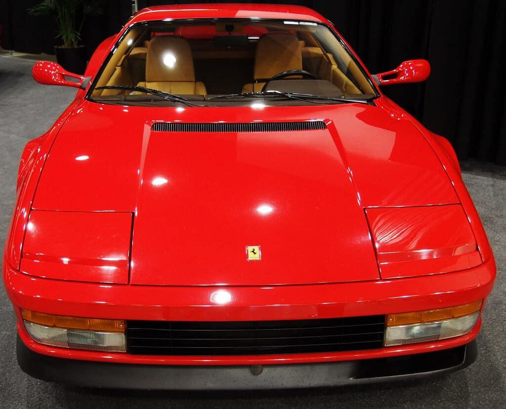 Ferarri Testarossa car