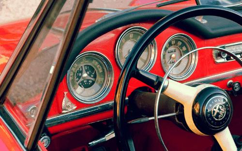 Interior of Alfa Romeo