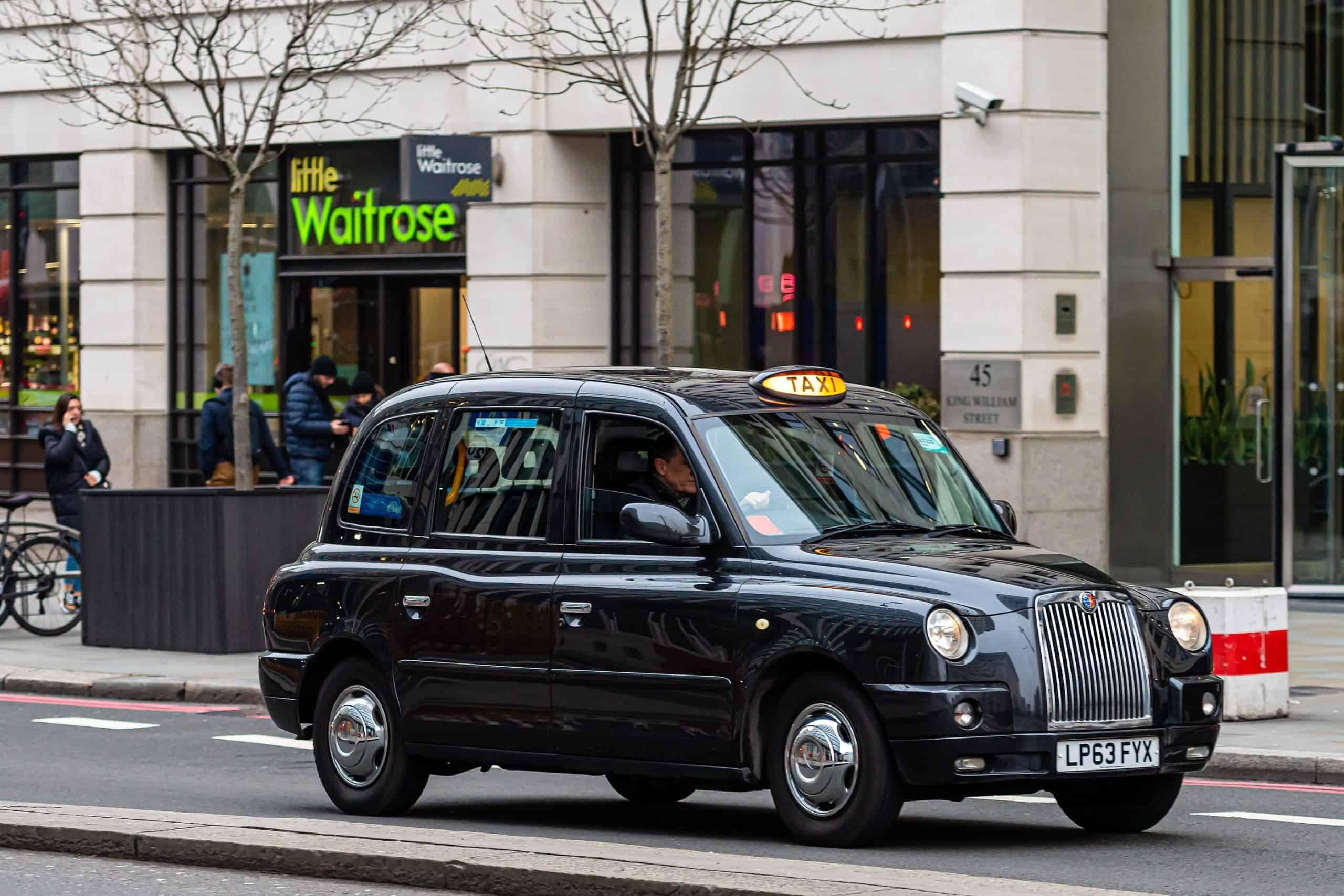 Black cab driving