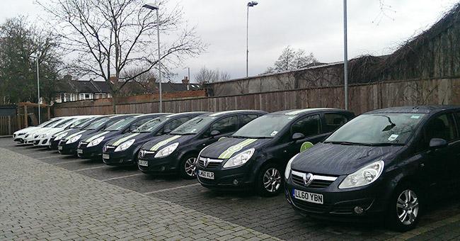 Image of motor fleet