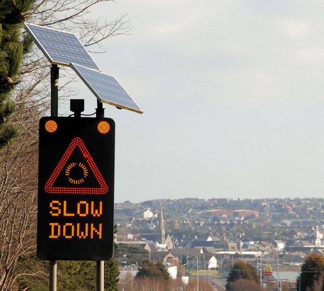 Image of Slow Down Sign