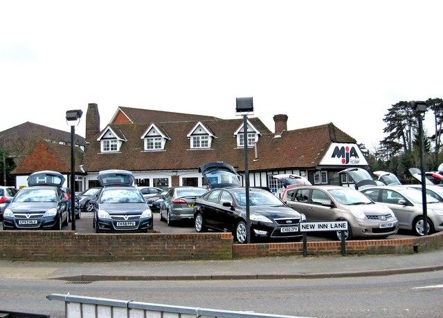 Image of car dealership