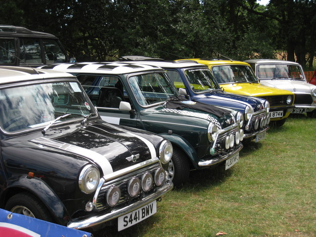 A row of Minis