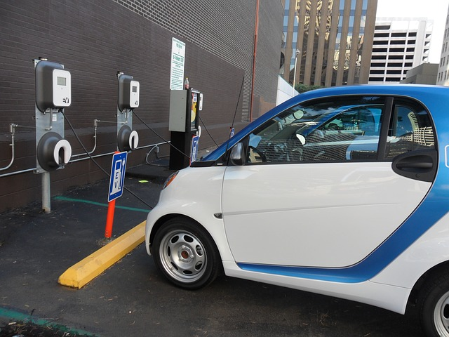 Image of electric cars