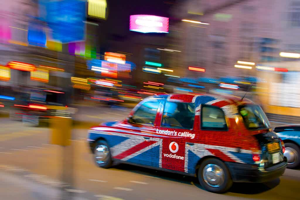 Fast Moving Taxi