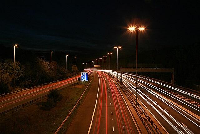 Image of Motorway at Night